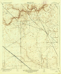 Satsuma Texas Historical topographic map, 1:31680 scale, 7.5 X 7.5 Minute, Year 1920