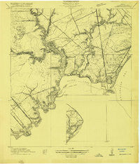 Seabrook Texas Historical topographic map, 1:24000 scale, 7.5 X 7.5 Minute, Year 1916