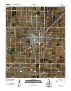 Seagraves Texas Historical topographic map, 1:24000 scale, 7.5 X 7.5 Minute, Year 2010