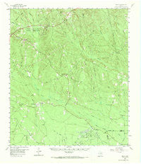 Segno Texas Historical topographic map, 1:62500 scale, 15 X 15 Minute, Year 1958
