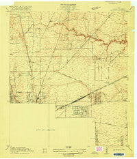 Settegast Texas Historical topographic map, 1:24000 scale, 7.5 X 7.5 Minute, Year 1916