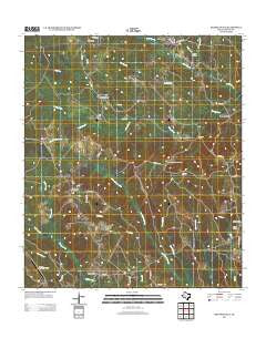 Shankleville Texas Historical topographic map, 1:24000 scale, 7.5 X 7.5 Minute, Year 2012