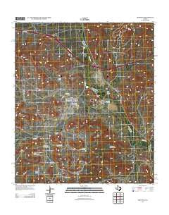 Sheffield Texas Historical topographic map, 1:24000 scale, 7.5 X 7.5 Minute, Year 2012