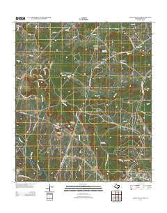 Shell Mountains Texas Historical topographic map, 1:24000 scale, 7.5 X 7.5 Minute, Year 2012