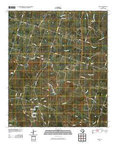 Shive Texas Historical topographic map, 1:24000 scale, 7.5 X 7.5 Minute, Year 2010