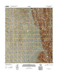 Six Bar Ranch Texas Historical topographic map, 1:24000 scale, 7.5 X 7.5 Minute, Year 2012