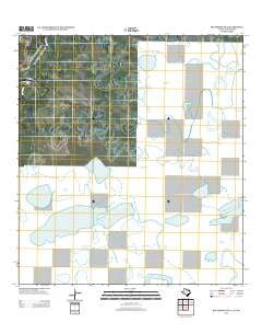 Southmost OE E Texas Historical topographic map, 1:24000 scale, 7.5 X 7.5 Minute, Year 2012