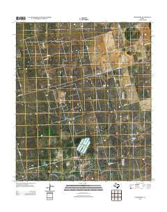 Spraberry Texas Historical topographic map, 1:24000 scale, 7.5 X 7.5 Minute, Year 2012