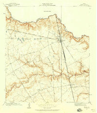 Spring Texas Historical topographic map, 1:24000 scale, 7.5 X 7.5 Minute, Year 1916