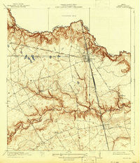 Spring Texas Historical topographic map, 1:31680 scale, 7.5 X 7.5 Minute, Year 1920