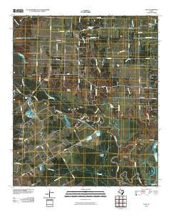 Styx Texas Historical topographic map, 1:24000 scale, 7.5 X 7.5 Minute, Year 2010