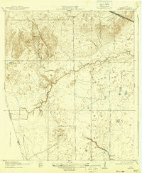 Swanson Texas Historical topographic map, 1:31680 scale, 7.5 X 7.5 Minute, Year 1919