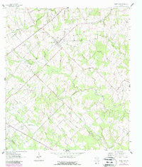 Sweet Home Texas Historical topographic map, 1:24000 scale, 7.5 X 7.5 Minute, Year 1963