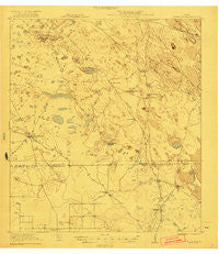 Tarida Ranch Texas Historical topographic map, 1:62500 scale, 15 X 15 Minute, Year 1921