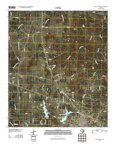 Teague North Texas Historical topographic map, 1:24000 scale, 7.5 X 7.5 Minute, Year 2010