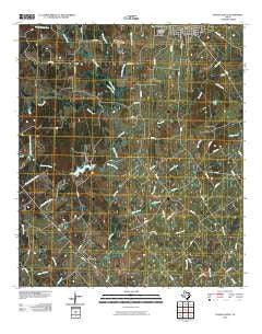 Teague South Texas Historical topographic map, 1:24000 scale, 7.5 X 7.5 Minute, Year 2010