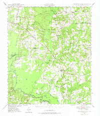 Tennessee Colony Texas Historical topographic map, 1:62500 scale, 15 X 15 Minute, Year 1949