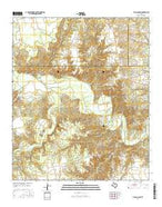 Tige Canyon Texas Current topographic map, 1:24000 scale, 7.5 X 7.5 Minute, Year 2016 from Texas Map Store