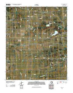 Toco Texas Historical topographic map, 1:24000 scale, 7.5 X 7.5 Minute, Year 2010