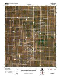 Tokio NW Texas Historical topographic map, 1:24000 scale, 7.5 X 7.5 Minute, Year 2010