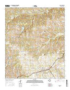 Tolar Texas Current topographic map, 1:24000 scale, 7.5 X 7.5 Minute, Year 2016 from Texas Map Store