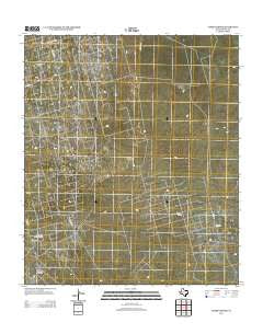 Tubbs Corner Texas Historical topographic map, 1:24000 scale, 7.5 X 7.5 Minute, Year 2012