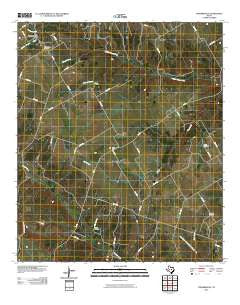 Turnersville Texas Historical topographic map, 1:24000 scale, 7.5 X 7.5 Minute, Year 2010
