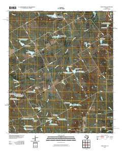 Union High Texas Historical topographic map, 1:24000 scale, 7.5 X 7.5 Minute, Year 2010