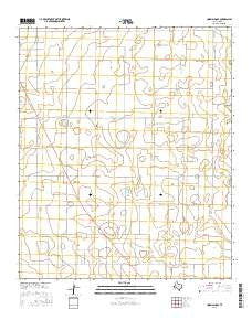 Union School Texas Current topographic map, 1:24000 scale, 7.5 X 7.5 Minute, Year 2016