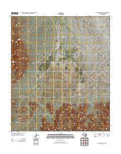 Victorio Peak Texas Historical topographic map, 1:24000 scale, 7.5 X 7.5 Minute, Year 2012