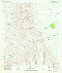 Vieja Pass Texas Historical topographic map, 1:24000 scale, 7.5 X 7.5 Minute, Year 1978
