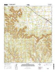 View Texas Current topographic map, 1:24000 scale, 7.5 X 7.5 Minute, Year 2016