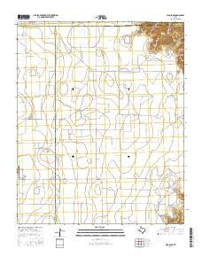 Vigo Park Texas Current topographic map, 1:24000 scale, 7.5 X 7.5 Minute, Year 2016