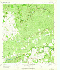 Voca Texas Historical topographic map, 1:24000 scale, 7.5 X 7.5 Minute, Year 1963
