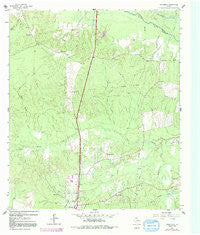 Wakefield Texas Historical topographic map, 1:24000 scale, 7.5 X 7.5 Minute, Year 1963