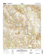 Walnut Springs West Texas Current topographic map, 1:24000 scale, 7.5 X 7.5 Minute, Year 2016 from Texas Map Store