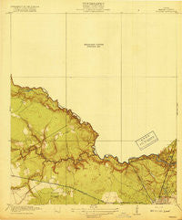 Weeden Texas Historical topographic map, 1:31680 scale, 7.5 X 7.5 Minute, Year 1919