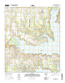 West Tawakoni Texas Current topographic map, 1:24000 scale, 7.5 X 7.5 Minute, Year 2016