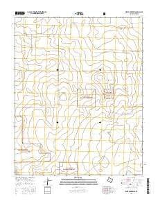 West of Kerrick Texas Current topographic map, 1:24000 scale, 7.5 X 7.5 Minute, Year 2016