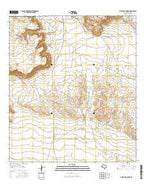 Whirlwind Spring Texas Current topographic map, 1:24000 scale, 7.5 X 7.5 Minute, Year 2016 from Texas Map Store