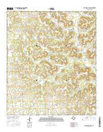 Wild Horse Canyon Texas Current topographic map, 1:24000 scale, 7.5 X 7.5 Minute, Year 2016 from Texas Map Store