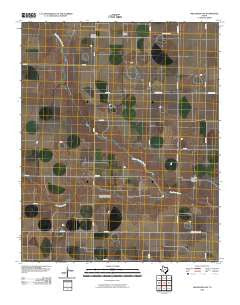 Wildorado SW Texas Historical topographic map, 1:24000 scale, 7.5 X 7.5 Minute, Year 2010