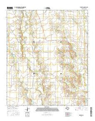 Wilmeth Texas Current topographic map, 1:24000 scale, 7.5 X 7.5 Minute, Year 2016