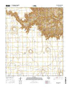 Wilson Creek Texas Current topographic map, 1:24000 scale, 7.5 X 7.5 Minute, Year 2016