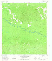 Wolf Hill Texas Historical topographic map, 1:24000 scale, 7.5 X 7.5 Minute, Year 1963