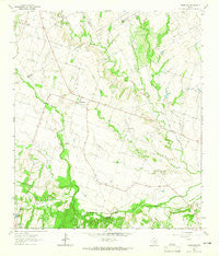 Yarrelton Texas Historical topographic map, 1:24000 scale, 7.5 X 7.5 Minute, Year 1963