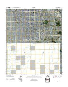 Ysleta NW Texas Historical topographic map, 1:24000 scale, 7.5 X 7.5 Minute, Year 2012