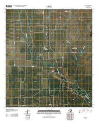 Zella Texas Historical topographic map, 1:24000 scale, 7.5 X 7.5 Minute, Year 2010