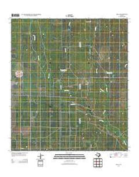 Zella Texas Historical topographic map, 1:24000 scale, 7.5 X 7.5 Minute, Year 2013