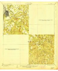 Zephyr Texas Historical topographic map, 1:62500 scale, 15 X 15 Minute, Year 1928